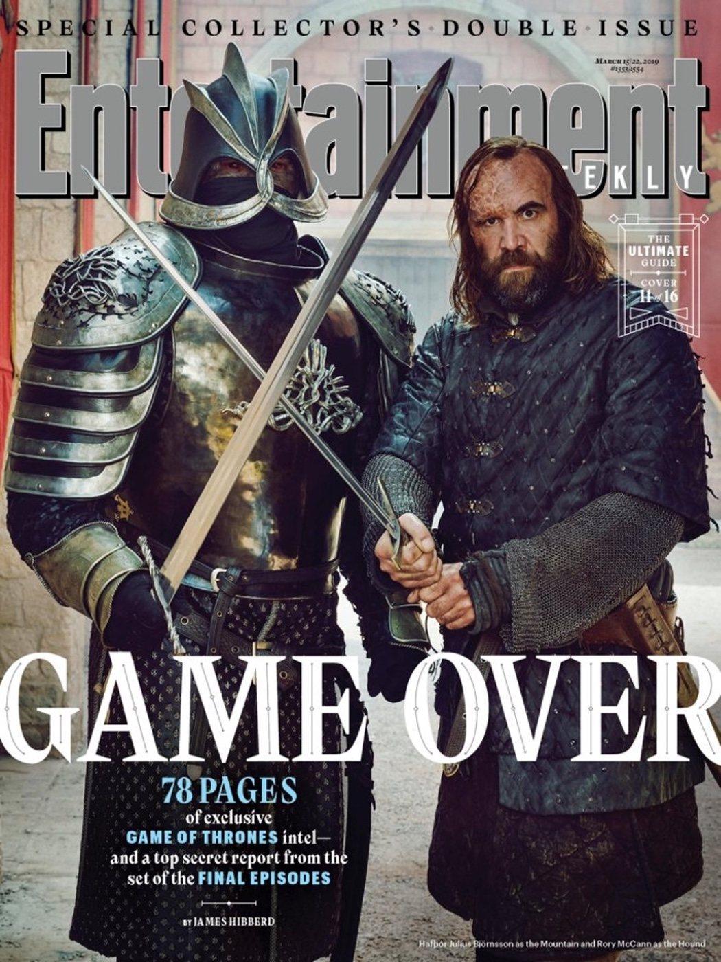 Sandor y Gregor Clegane