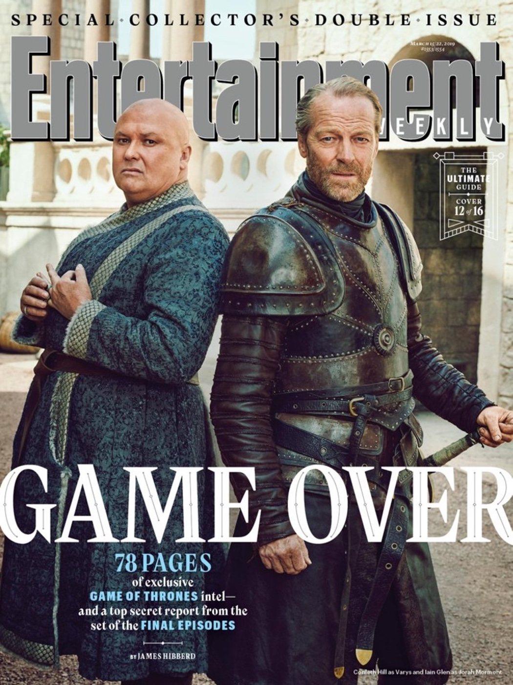 Jorah Mormont y Varys