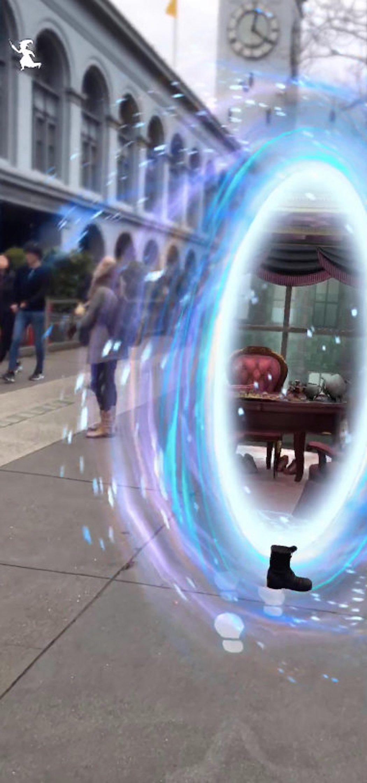 El traslador abre un nuevo portal