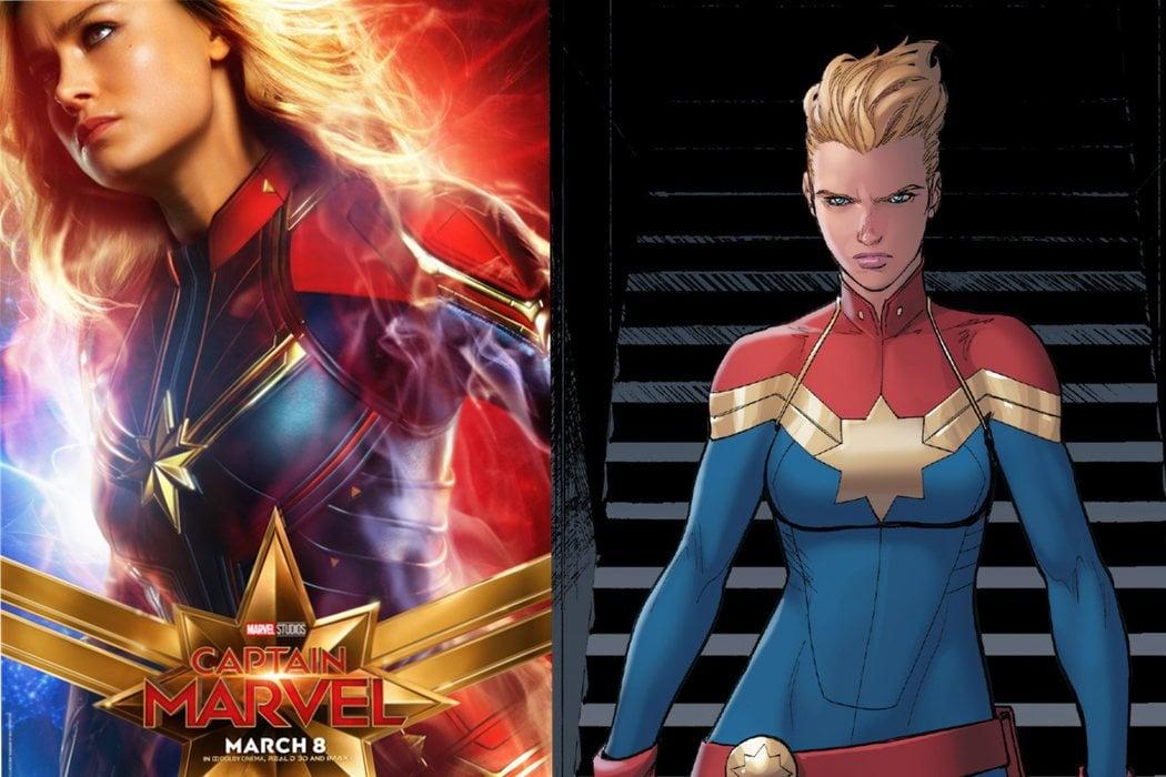 Carol Danvers / Capitana Marvel (Brie Larson)