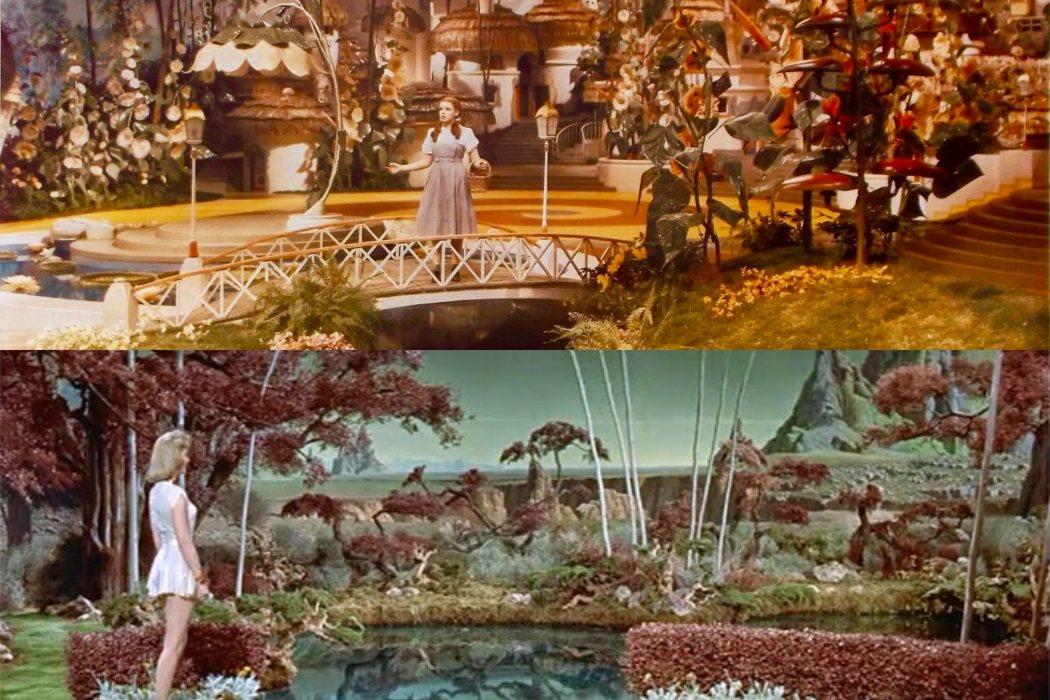 Se rodó en el mismo set que 'El mago de Oz'