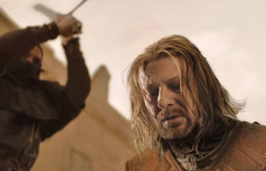 Ned pierde la cabeza