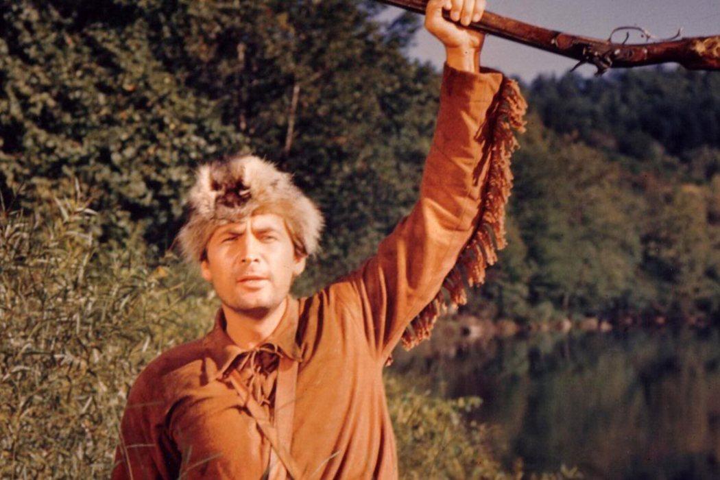 'Davy Crockett, rey de la frontera' (1955)
