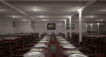 Comedor de segunda en el Titanic 2