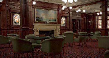 Nuevo 'salón de fumadores' (en el original sólo podían entrar hombres)