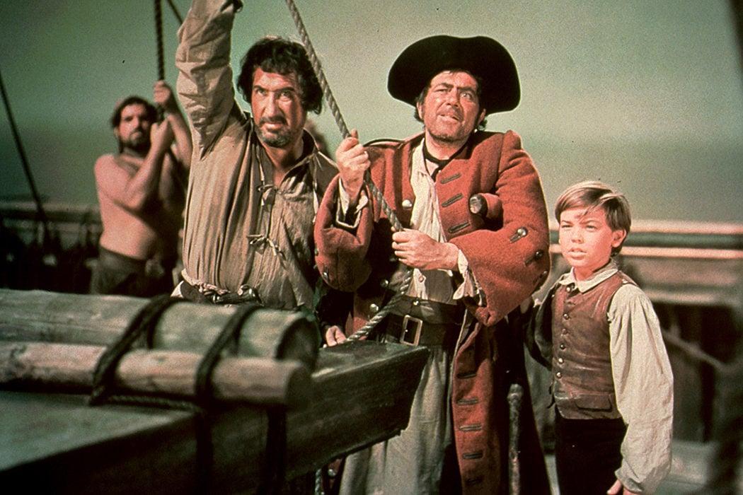 'La isla del tesoro' (1950)