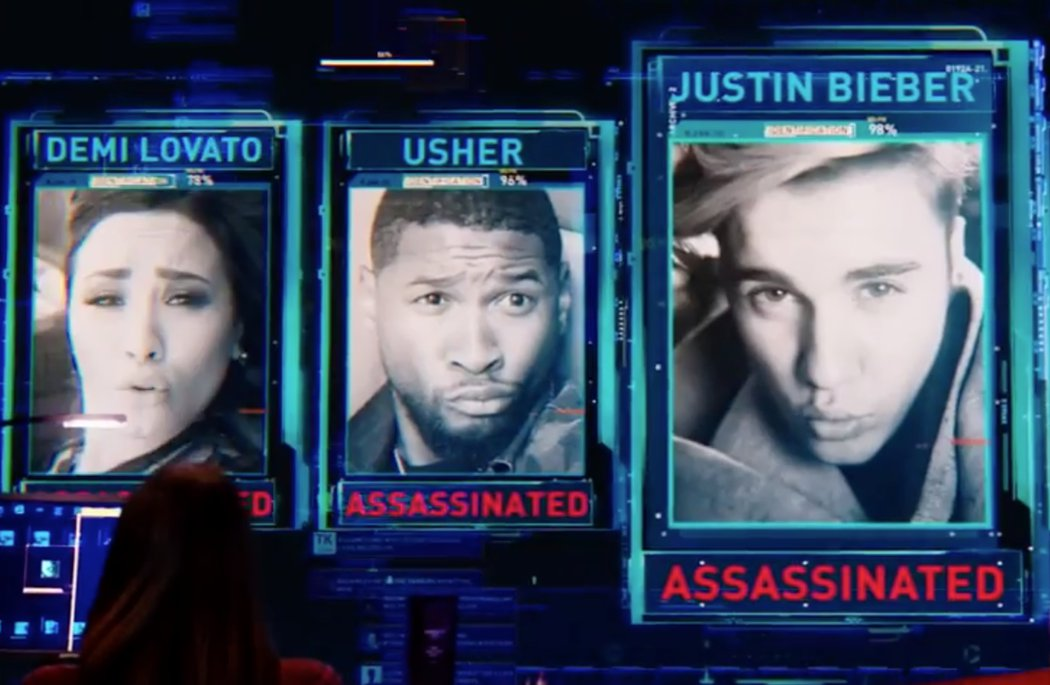 Justin Bieber, Demi Lovato, Miley Cyrus, Lenny Kravitz o Usher