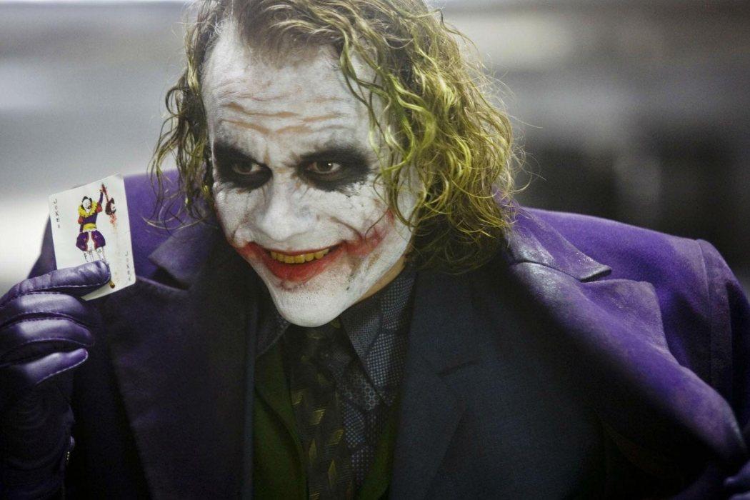 El Joker en 'El Caballero Oscuro' (2008)