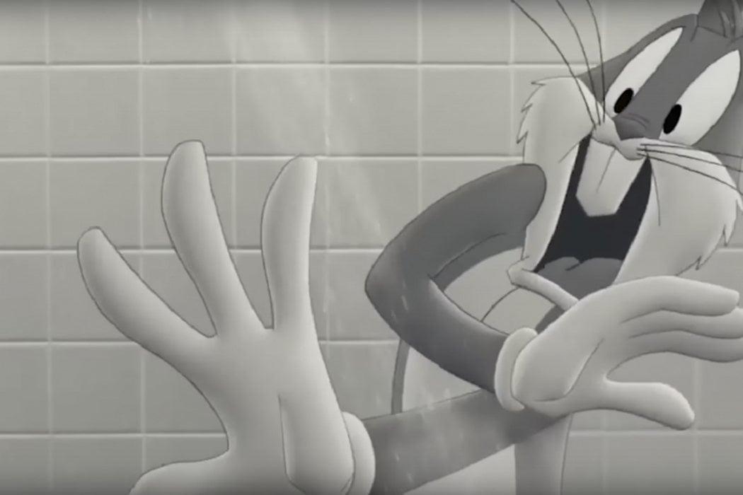 Bugs Bunny a lo Marion Crane