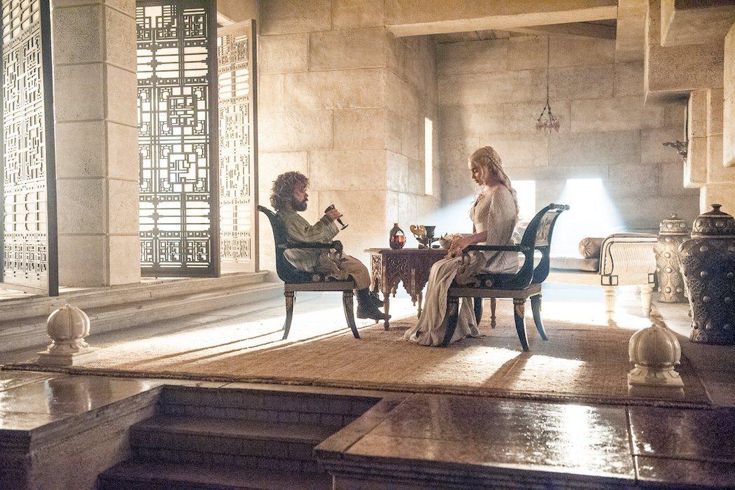 Daenerys y Tyrion se conocen