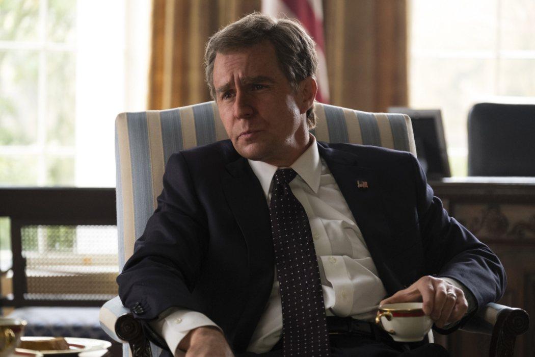 Presidente George W. Bush en 'El vicio del poder' (2018)
