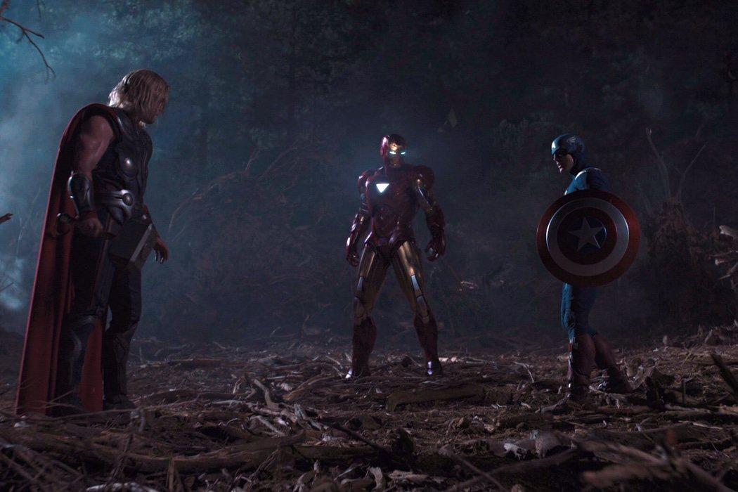 Primer encuentro con los Vengadores