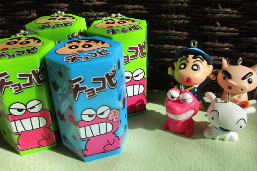 Las galletas de Shin Chan existen