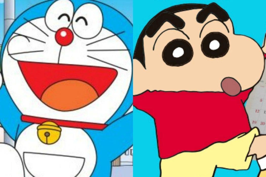 'Shin Chan' y 'Doraemon', hermanados