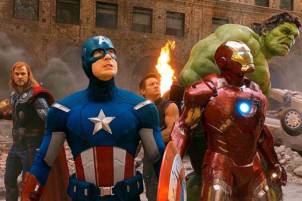 Los Vengadores reunidos