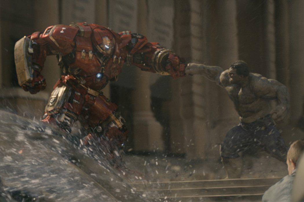 Hulkbuster contra Hulk