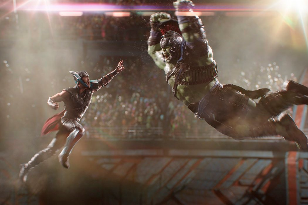 Thor contra Hulk