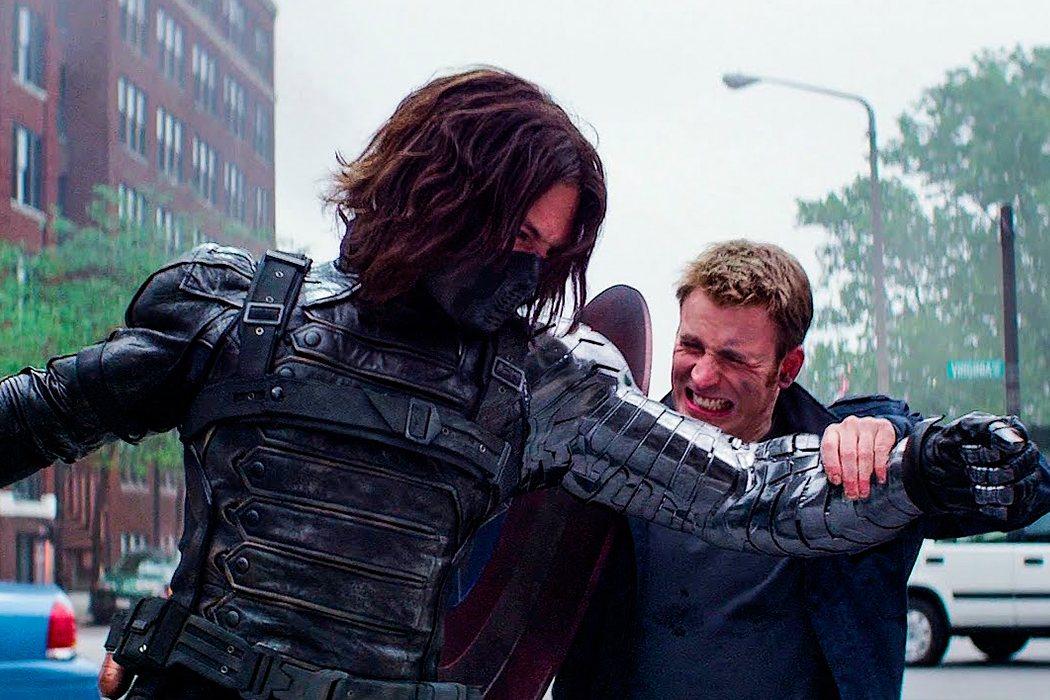 Capitán América contra el Soldado de Invierno