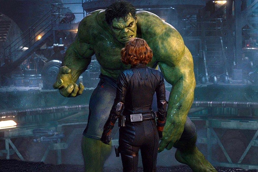 Hulk y Viuda Negra