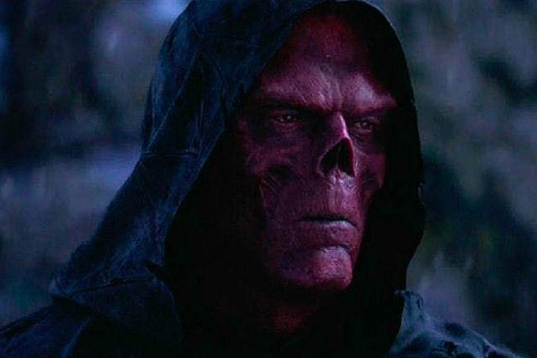 A Red Skull