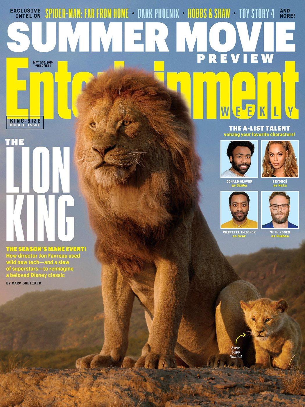 Portada de Entertainment Weekly