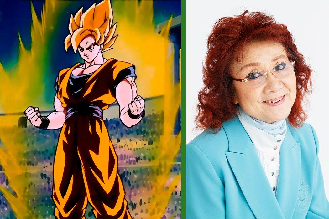 Una anciana japonesa dobla a Goku en la versión original