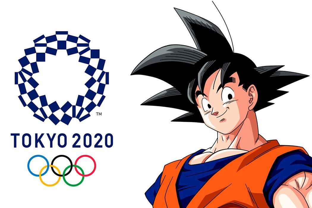 Goku es emabajador de los Juegos Olímpicos