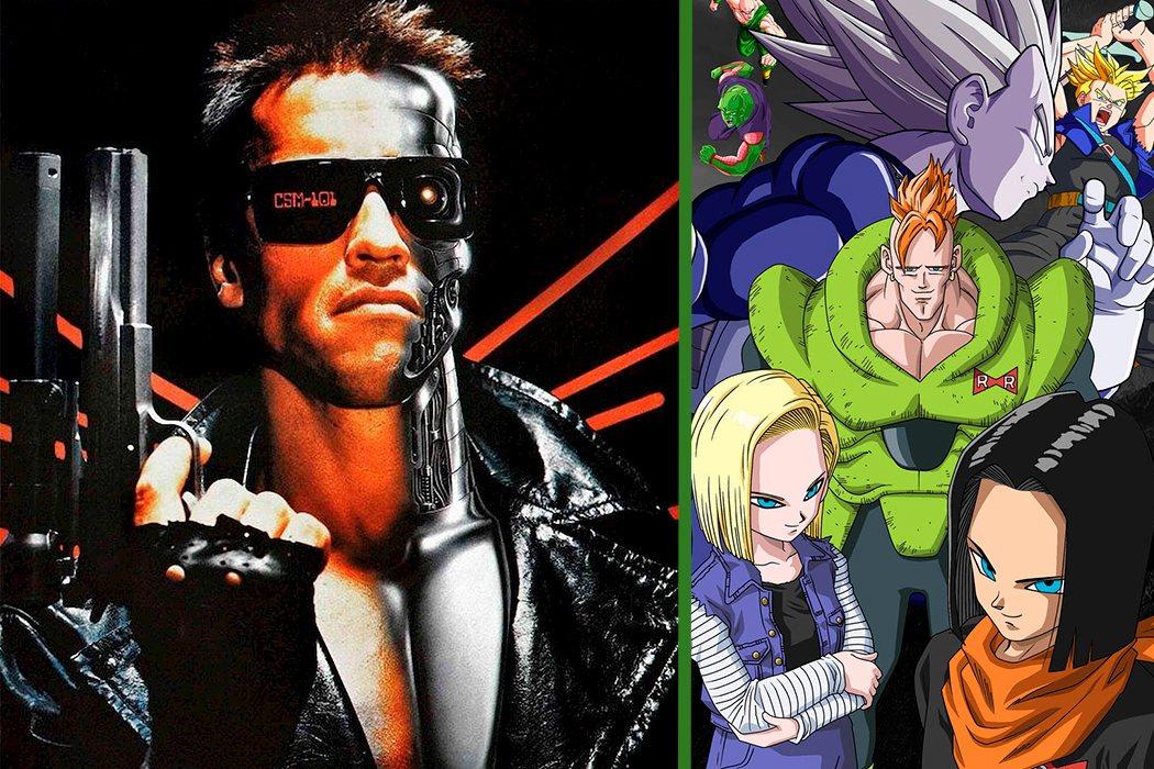 La saga androide está inspirada en 'Terminator'