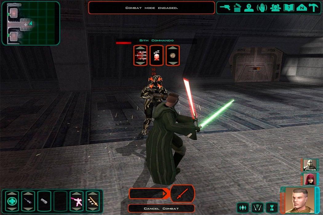 'Star Wars: Caballeros de la Antigua República 2: Los Señores Sith'