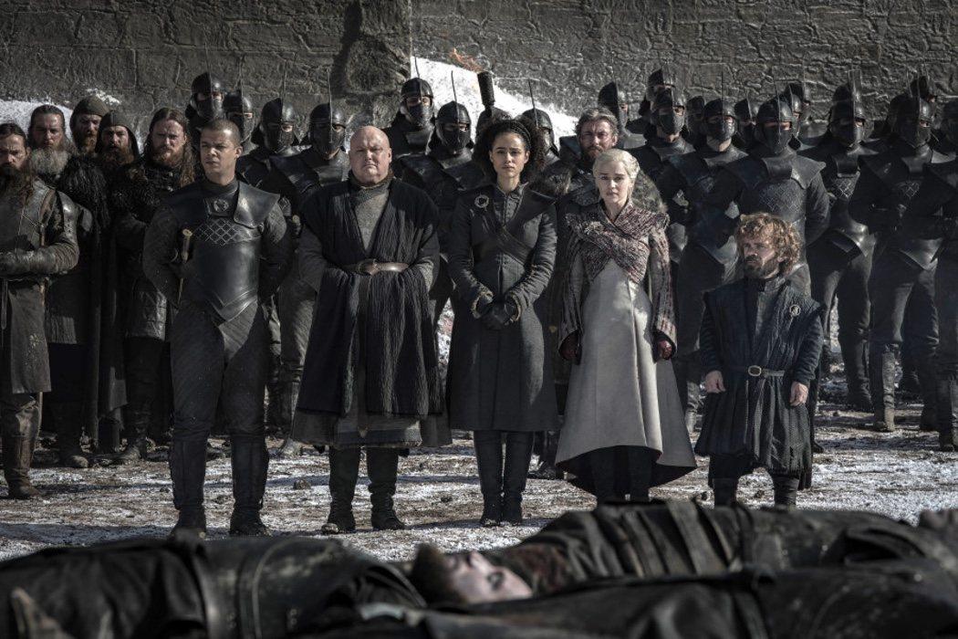 Daenerys de despedida