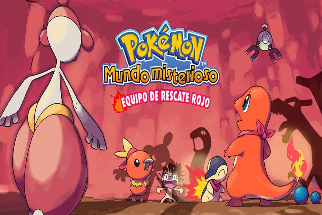 'Pokémon Mundo Misterioso: Equipo de rescate'