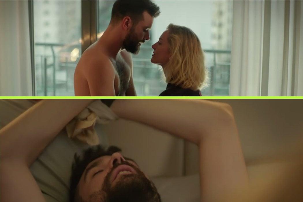 La provocadora escena de Diego y Eva