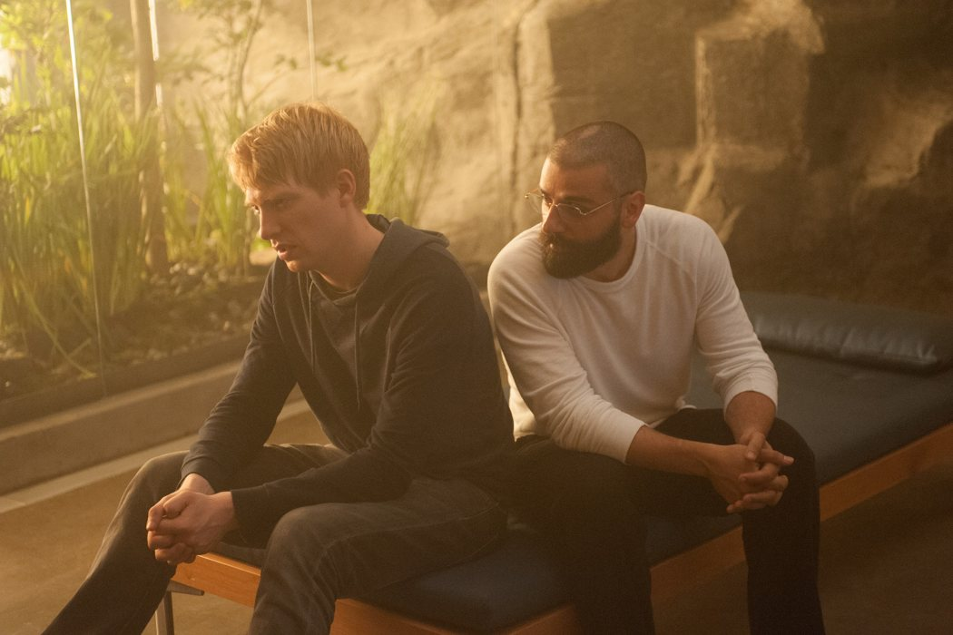 Caleb Smith en 'Ex Machina' (2015)