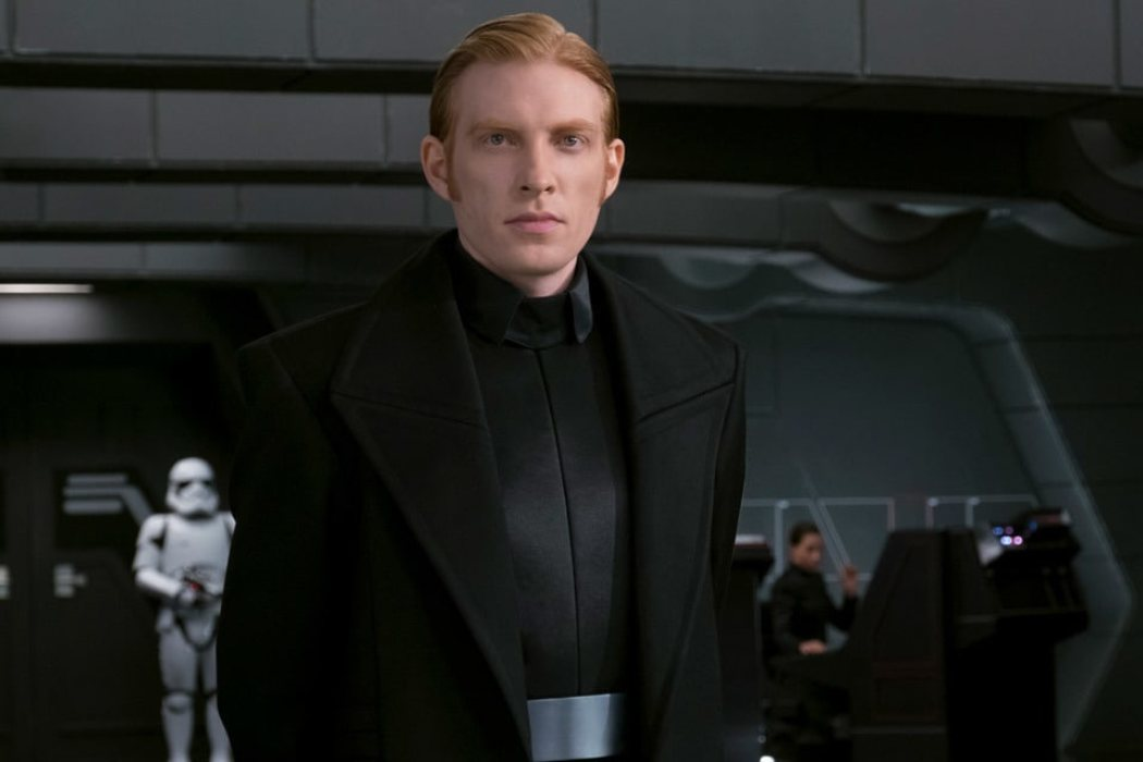 General Hux en 'Star Wars' (2015 - 2019)