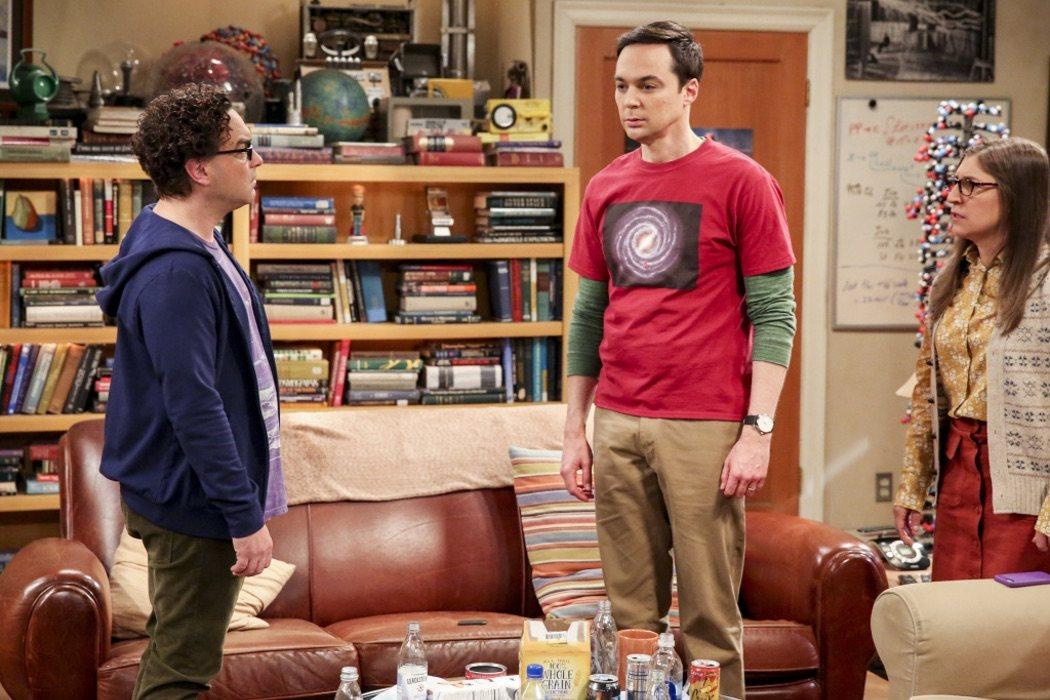 Leonard Hofstadter (Johnny Galecki), Sheldon y Amy