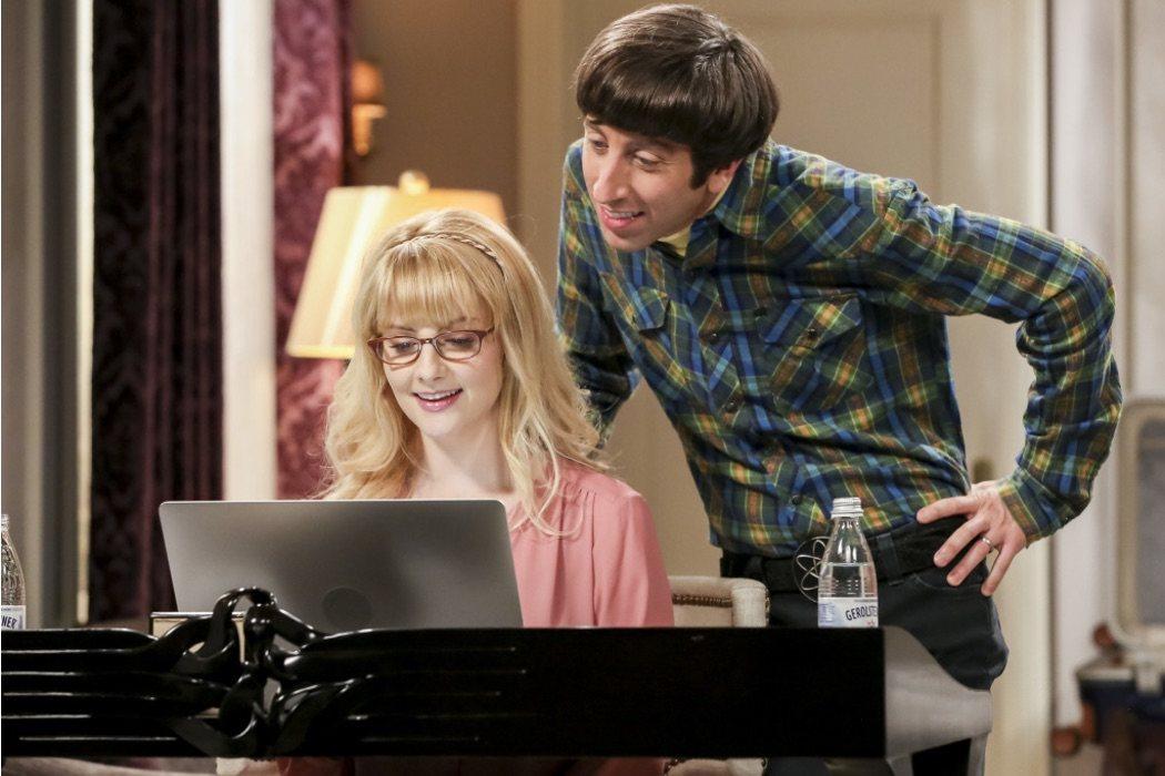 Bernadette (Melissa Rauch) y Howard