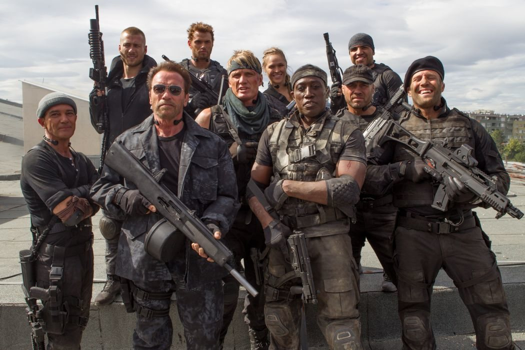 'Los mercenarios'