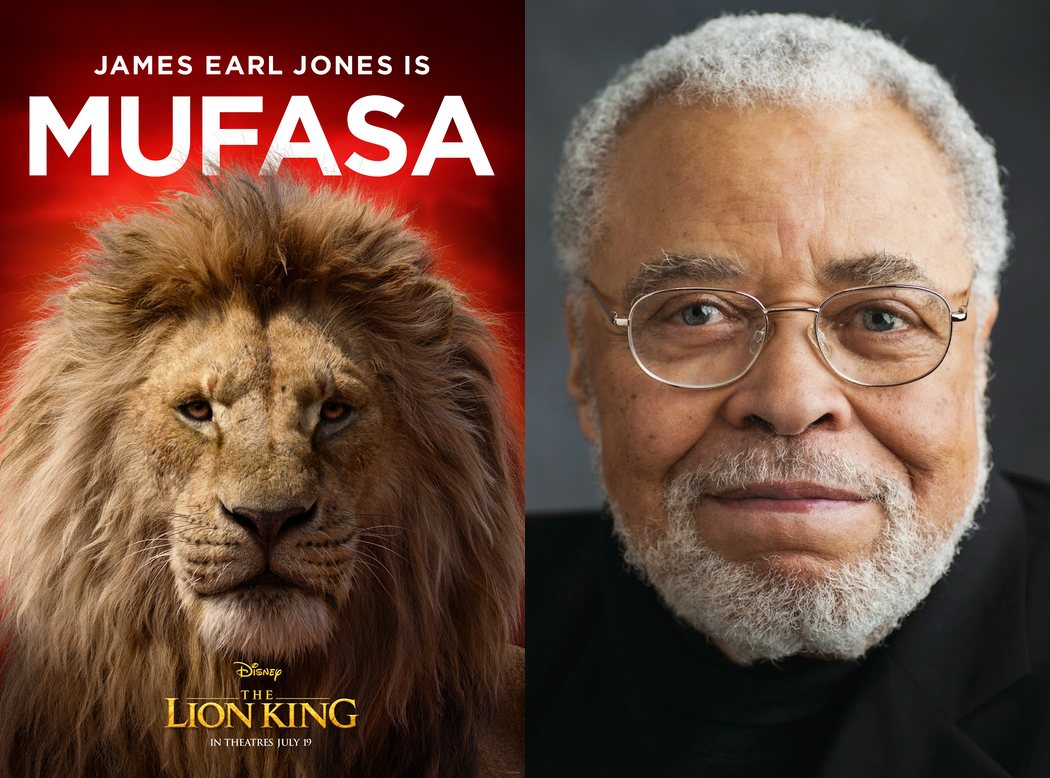 James Earl Jones es Mufasa