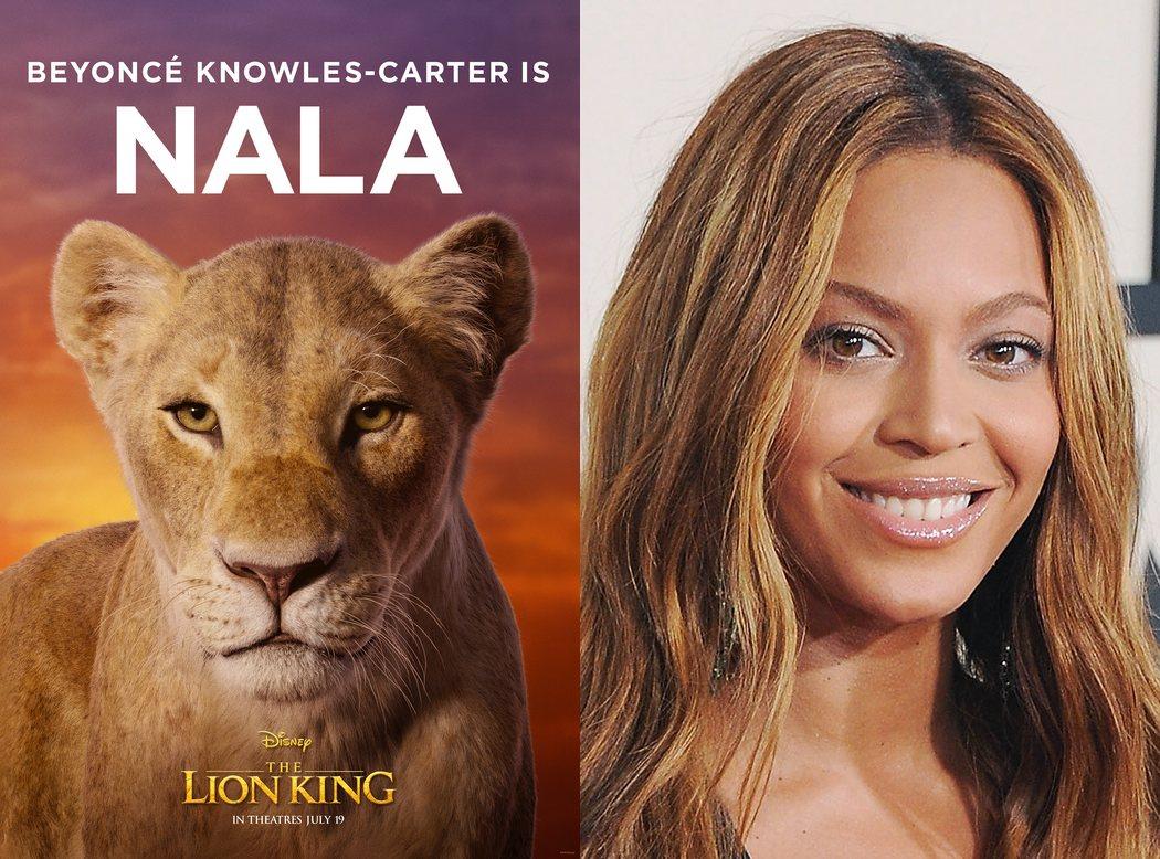 Beyoncé es Nala