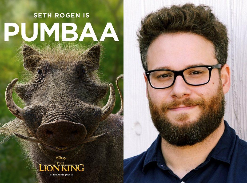 Seth Rogen es Pumbaa