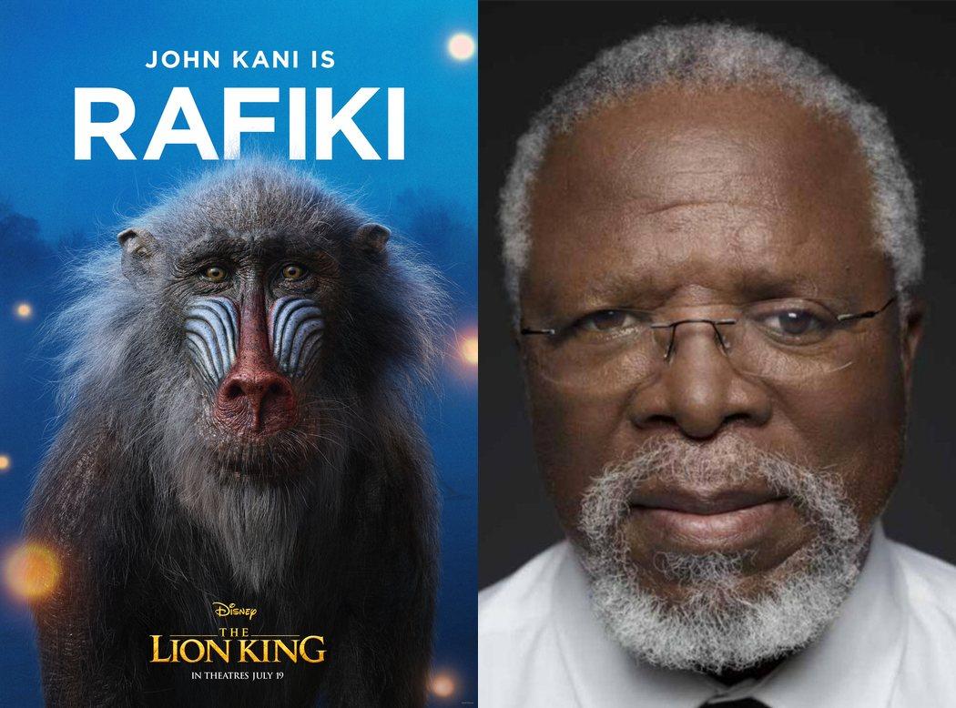 John Kani es Rafiki