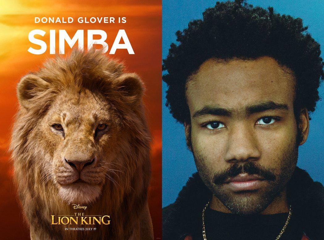Donald Glover es Simba