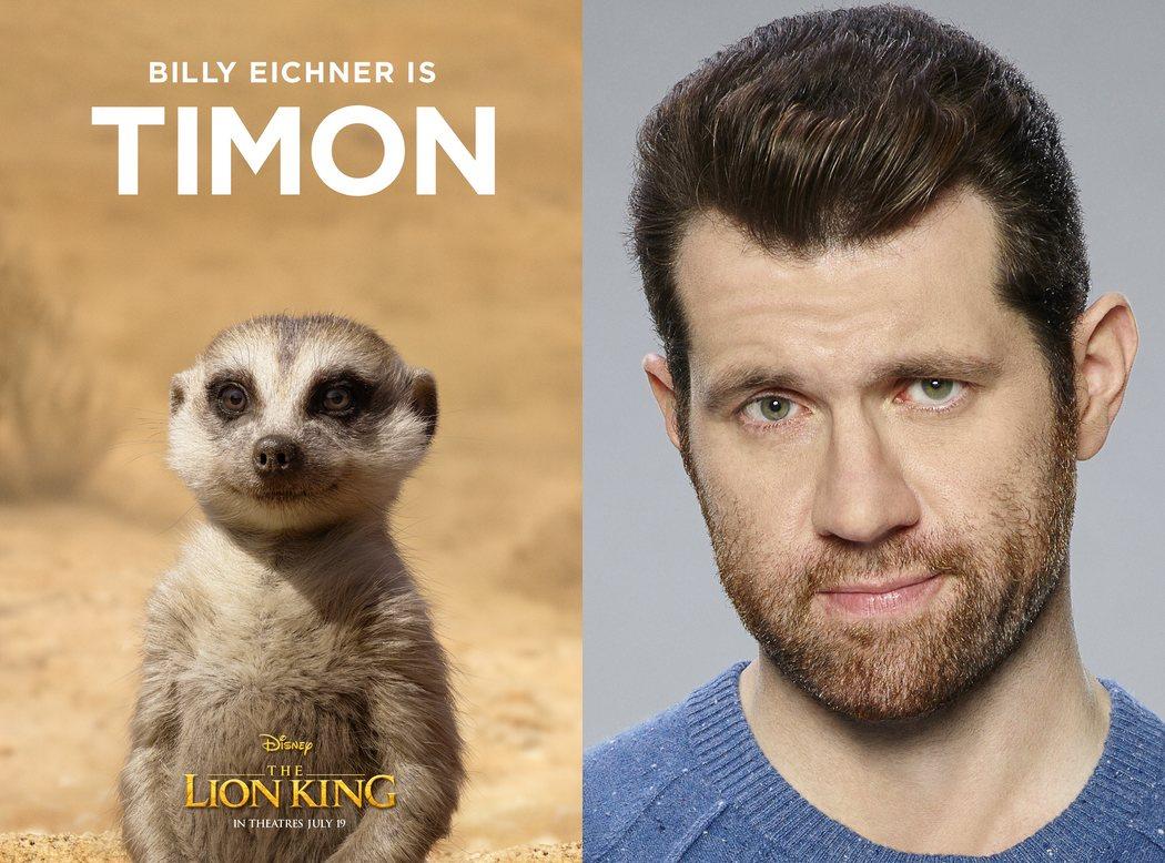 Billy Eichner es Timon