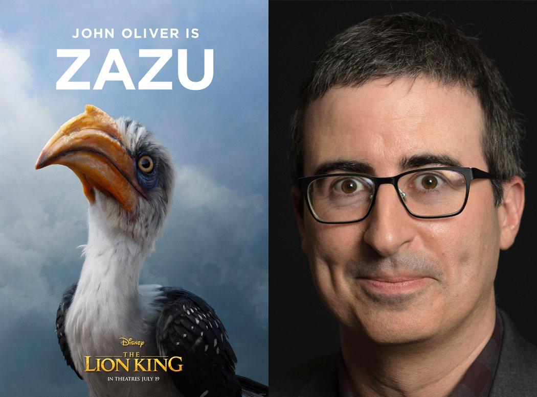 John Oliver es Zazu