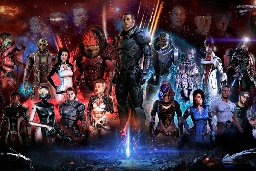Trilogía 'Mass Effect'