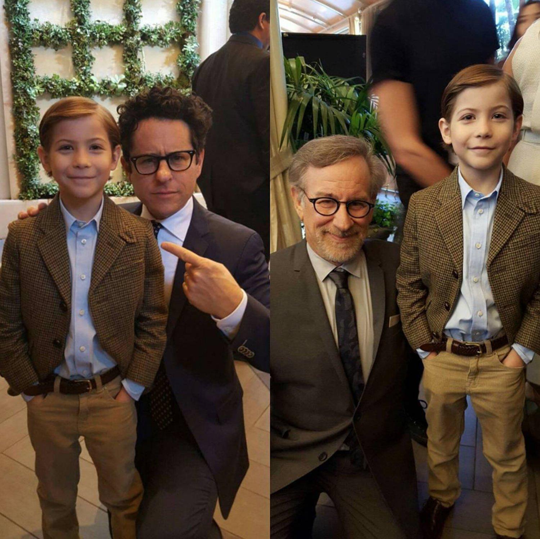 Con J.J. Abrams y Steven Spielberg