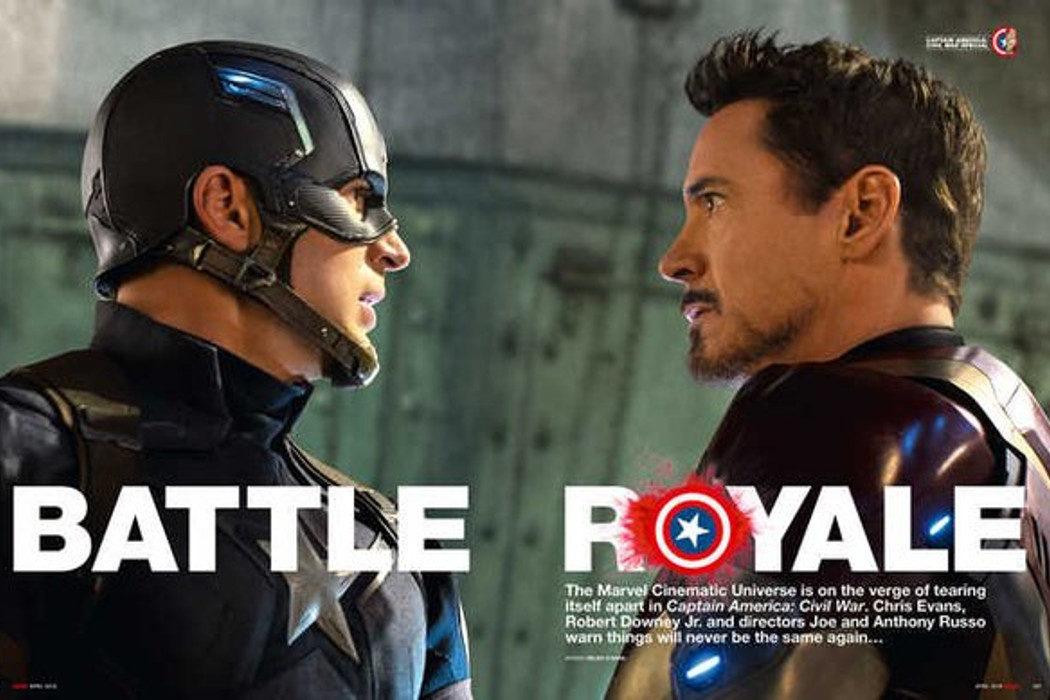 Tony Stark vs Capitán América