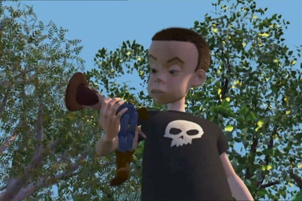 Woody se enfrenta a Sid