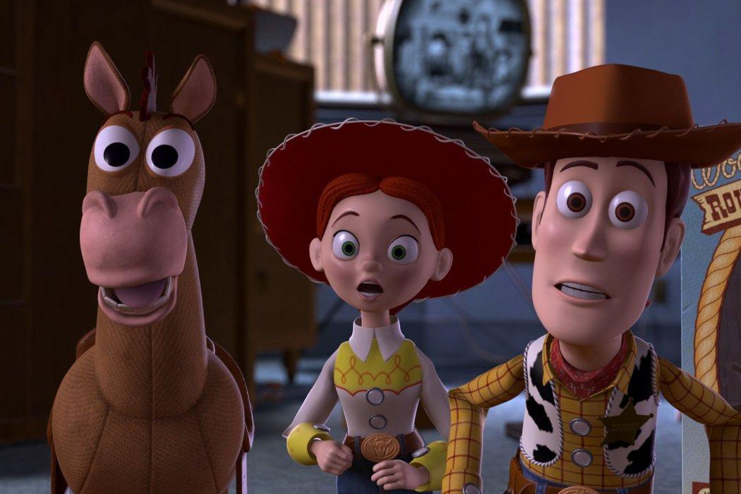 Woody conoce a Jessie y Perdigón y descubre su pasado