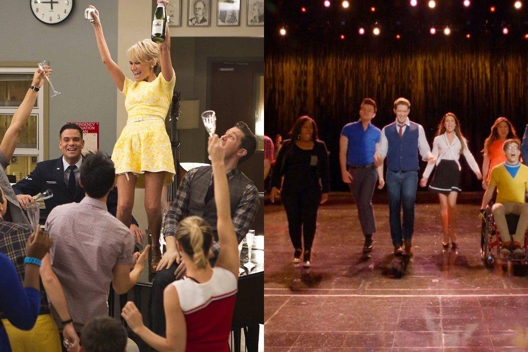 '100' y 'New Directions' (Temporada 5, Episodios 12 y 13)